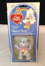 "Vintage Care Bears 1982 Poseable 3.5"" Figure GRAMS Bear # 61220 New In Package"