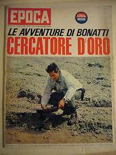 1966  LE AVVENTURE DI WALTER BONATTI CERCATORE D'ORO     EPOCA