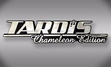 TARDIS Chameleon Edition Dr Who Car Emblem - Chrome Plastic Not a Decal/Sticker