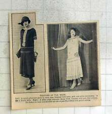 1925 Fashions Of The Week, Afternoon Gown, Dinner Frock