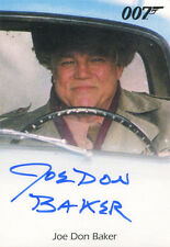James Bond Archives 2015 Autograph Card Joe Don Baker as Jack Wade