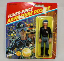 Vintage Fisher Price Adventure People HIGHWAY TROOPER Action Figure Carded 1983