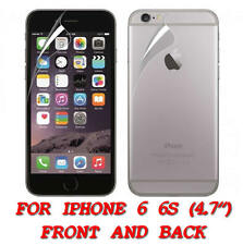FRONT AND BACK CLEAR FILM LCD SCREEN PROTECTION FOR IPHONE 6 6S 4.7 INCH
