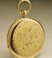 Ancienne montre gousset Répétition SONNERIE OR 18K .1840 SOLID GOLD pocket watch