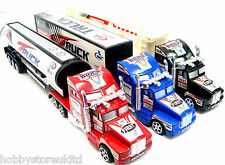 3 Pcs Die Cast Lorry Set Kids Lorry Childrens Toy Cars Friction Power Truck Set