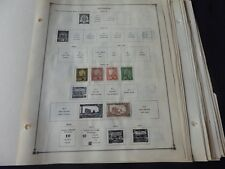 French Colonies Pre 1940 Mint/Used Stamp Collection on Scott Int Album Pages