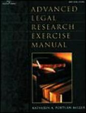 Advanced Legal Research Exercise Manual-ExLibrary