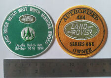 2X Land Rover Series 1 2 A CLUB BADGE VINTAGE CLASSIC PARTS FOR SALE 2a