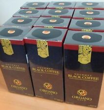 10 Boxes Organo Gold Black Coffee Cafe Noir Organic Ganoderma Lingzhi Express