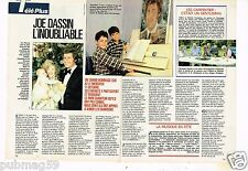 Coupure de presse Clipping 1989 (4 pages) Joe Dassin