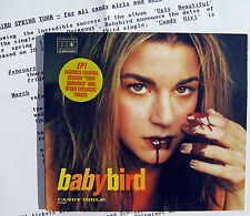 BABYBIRD CD Candy Girl UK DIGI-PACK + Press Release PART 1 Mint You're Acoustic