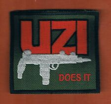 "ISRAEL MILITARY INDUSTRIES  ""UZI DOSE IT""  PATCH"