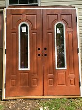Front Exterior Entry Door with Sidelights 65x82
