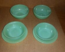 6 VINTAGE FIRE KING JADEITE DISHES FREE SHIPPING