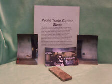 "World Trade Center""WTC""Stone~Building #5~1998 w/Pictures"