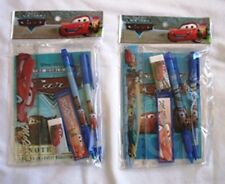 12 Disney Pixar Cars Stationery Gift Set Kid School Party Favor Supply Wholesale