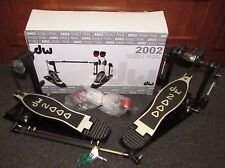 DW 2002 DRUM DOUBLE PEDAL IN BOX MINT