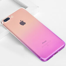 PLUM RED Soft Silicone Protective TPU Skin Cover Case For Apple iPhone 7 Plus A