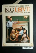 BIG LOVE SITTING BY FIREPLACE PHOTO TAN MINI POSTER BACKER CARD (NOT A movie)