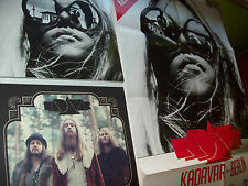KADAVAR-SAME+BERLIN-3 LP´s-LIMITED BLUE VINYL-FIRST PRESS-MIT GIANT PROMO POSTER