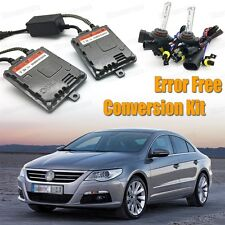 H7 Xenon HID Bulbs High Beam CanBus Ballasts 55W for Volkswagen CC 2009-2017