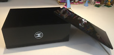 Chanel Jewelry Makeup Beauty Storage Perfume Organizer Acrylic Box NEW w/ LID