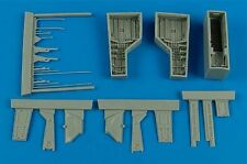 Aires 1/48 T-28 Trojan wheel bay for Roden kit # 4584