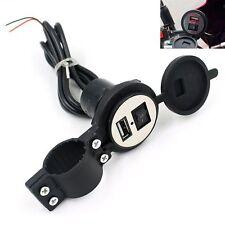 12V - 5V 1.5A Moto Smartphone GPS Cargador USB Adaptador Corriente Negro