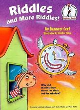 Riddles and More Riddles! by Bennett Cerf (1999, Hardcover)