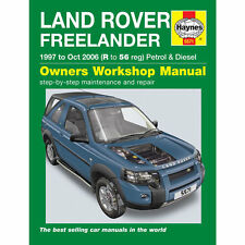 LandRover Freelander 1997-Oct 2006 (R to 56 Reg) 1.8 Petrol 2.0 TD Haynes Manual