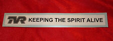 TVR KEEPING THE SPIRIT ALIVE DECAL STICKER LOGO LE MANS