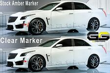 2014 2015 Cadillac CTS CTSV CTS-V CLEAR Side Markers  / Sidemarker