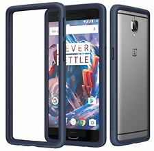 OnePlus 3 3T Case Crash Guard Cover Drop Protection Thin Protective Bumper Blue