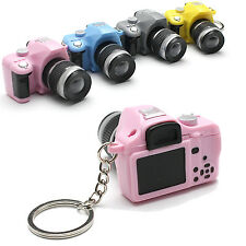 Newly Cute Mini Toy Camera Charm Keychain With Flash Light&Sound Effect Gift