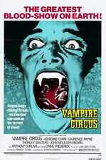 Vampire CiRcus Poster 01 A4 10x8 Photo Print