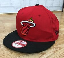NBA MIAMI HEAT 9FIFTY BASKETBALL SPORTS VINTAGE RETRO SNAPBACK CAP HAT