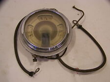 1937 FORD COUPE FUEL OIL AMP GAUGE CLUSTER OEM