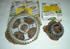 ROVER V8 PAIR OF TIMING CHAIN WHEELS GENUINE NEW NOS 610289 90602372