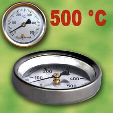 Backofenthermometer  Ofenthermometer Thermometer 500°C für Türeinbau Pizzaofen
