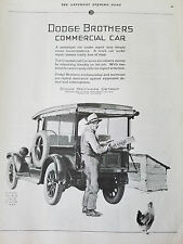 1925 Dodge Brothers Commercial Car Live Chickens Chicks William Meade Prince Ad