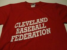 Cleveland BASEBALL FEDERATION League Jersey Never Worn FREE Shipping sz Small