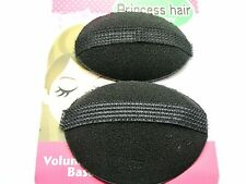 2pcs Sponge Hair Bun Maker Styling Tool Princess Hair Pads Foam Tools