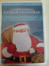 Raymond Briggs Father Christmas Crafters Companion CD-ROM New Papercrafting