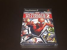 Marvel Ultimate Alliance 2 Playstation 2 PS2 Brand New Factory Sealed