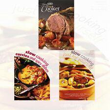 Slow Cooking Collection Everyday Family Recipes 3 Books Set,The Classic 1000.