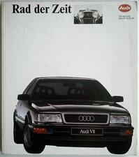 RAD DER ZEIT EINE UNTERNEHMENSDOKUMENTATION DER AUDI AG CAR BOOK