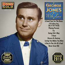 With Love - George Jones (2015, CD NIEUW)