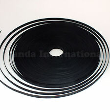 Uncovered Polyester Boning Black 50 yards, 8 mm width for flexible support