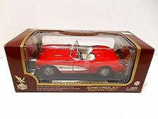 Road Legends  Yat Ming  '1957 Red Chevrolet Corvette'   Die-Cast  1/18