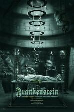 Jonathan Burton Frankenstein Movie Poster LE 325 Print Mondo Universal Monsters